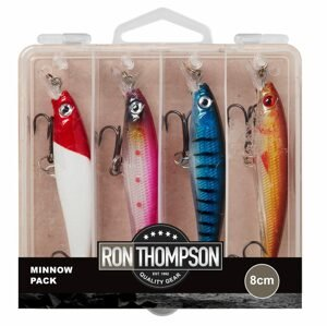 Ron Thompson Sada wobleru Minnow Pack - 8cm