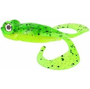 Gunki Gumová nástraha Bull Frog Lime Chart Pepper - 10cm 2ks