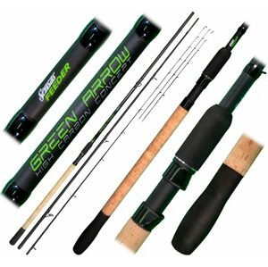 Sensas Prut Green Arrow Feeder 3,6m Medium 50-90g