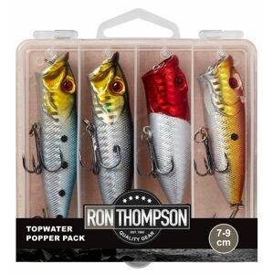 Ron Thompson Sada wobleru Topwater Popper Pack Box 7-9cm 4ks