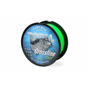 Carp´R´Us Vlasec Total Crossline Cast Green 300m - 0,28mm 5,5kg
