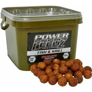 Starbaits Boilies Power FEEDZ Fish&Krill 1,8kg