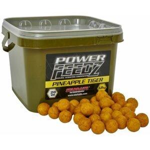 Starbaits Boilies Power FEEDZ Pineapple Tiger 1,8kg