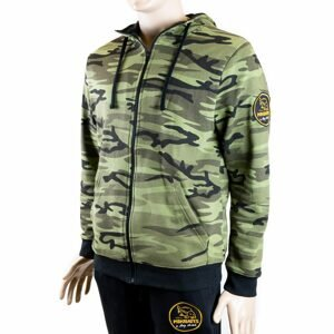 Mikbaits Mikina Zip up camou - M