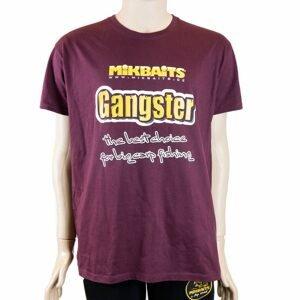 Mikbaits Tričko Gangster burgundy - L