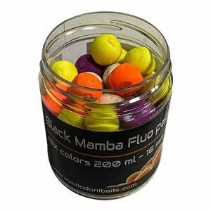 Mastodont Baits Fluo Pop-Up Boilies mix colors 16mm 200ml