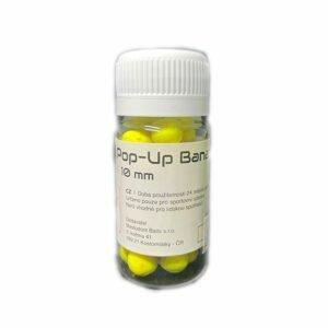 Mastodont Baits Fluo Pop-Up Boilies 10mm 30ml - Garlic