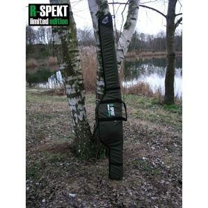 R-Spekt Double 13´ polstrované khaki pouzdro na 2 pruty - Double LUX s kapsou na podběrák