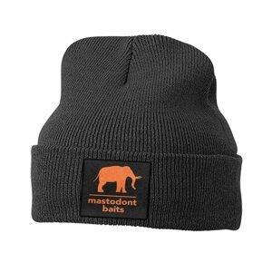 Mastodont Baits Zimní čepice pletená černá