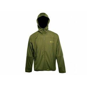 RidgeMonkey Bunda APEarel Dropback Lightweight Zip Jacket Green - XXXL
