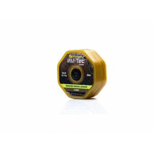 RidgeMonkey Šňůrka RM-Tec Braided Shock Leader 50lb 20m Camo