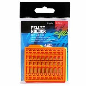 Giants Fishing Zarážky na pelety Pellet Holder Mix Colour (oranžová,žlutá,červená) 3ks