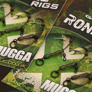 Gardner Montáž Ronnie Rig bez protihrotu 3ks - vel.č.6