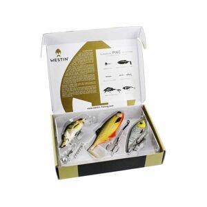 Westin Dárková sada nástrah Gift Box European Pike Selection 2018 Small