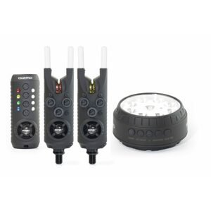 Sonik Sada hlásičů Gizmo Alarm + Bivvy Lamp 2+1