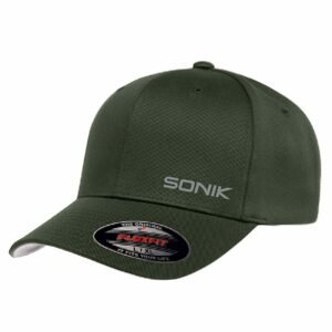 Sonik Kšiltovka Sonik Flexfit Olive Cap