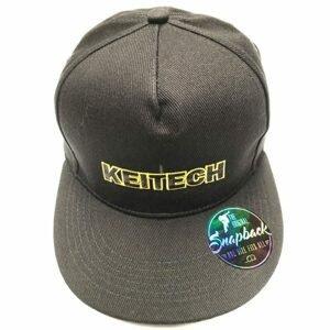 Keitech Kšiltovka Snapback Cap CZ Černá