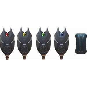DAM Sada Signalizátorů TF Bite Alarm Set 4+1 Red,Blue,Green,Yellow