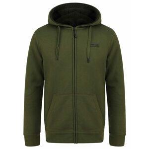 Navitas Mikina Sherpa Zip Hoody Green - XXL
