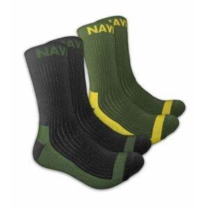 Navitas Ponožky Coolmax Crew Sock Twin Pack - 41-45