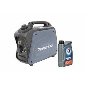 Powerkick Elektrocentrála Generator 1200W + 1l oleje