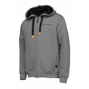 Savage Gear Classic Zip Hoodie Grey Melange - XL