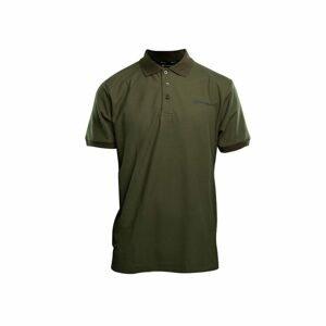 RidgeMonkey Tričko APEarel Dropback Polo Shirt Green - XXL