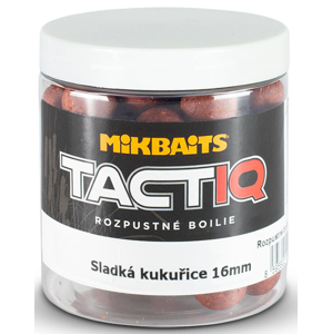 Boilie Mikbaits TactiQ Rozpustné 250ml Sladká Kukuřice Průměr 20mm