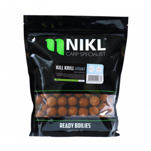 Ready Boilie Nikl Kill Krill Atrakt 20mm 1kg