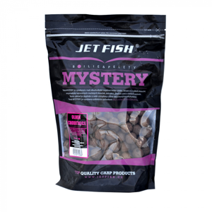Boilies JetFish Mystery 16mm 900gr Jahoda/Moruše