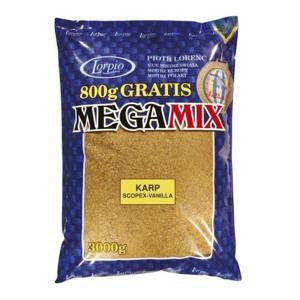 Krmítková Směs Lorpio MEGAMIX 3kg Plotice-Čokoláda
