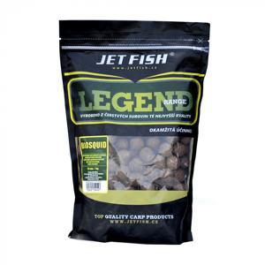 Boilie JetFish Legend Range Seafood Švestka/Česnek 24mm 1kg