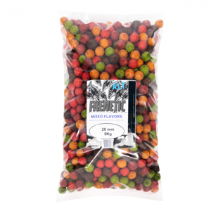 Boilies Carp Only Frenetic A.L.T. Mixed Flavors 5kg 24mm