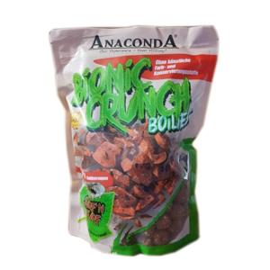 Boilie Anaconda Bionic Crunch Boilies 20mm 1kg Kořeněné Hovězí s Krevetami