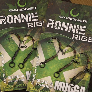Montáž Gardner Ronnie Rig S Protihrotem 3ks Velikost 4