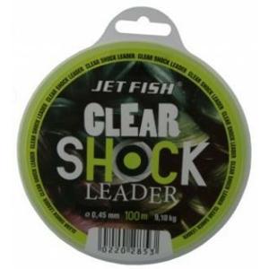 Šokový Vlasec JetFish Clear Shock Leader 100m 0,45mm