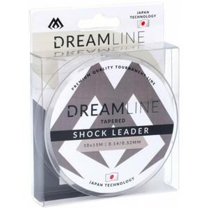 Šokový Vlasec Mikado Tapered Shock Leader Dreamline 10x15m 0,18mm - 0,60mm