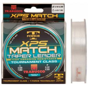 Ujímaný Vlasec Trabucco TF XPS Match Taper Leader 10x15m 0,20-0,32mm/5,3-10,3kg