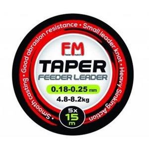 Šokový Návazec Feeder Match Taper 15m 0,20-0,31mm 5,3-11,2kg