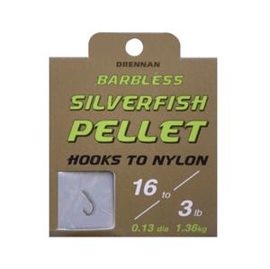Hotový Návazec Drennan Silverfish Pellet Barbless Velikost 20/2lb