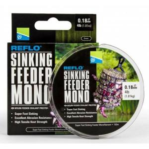 Monofilní Vlasec Preston Reflo Sinking Feeder Mono 150m Průměr 0,23mm