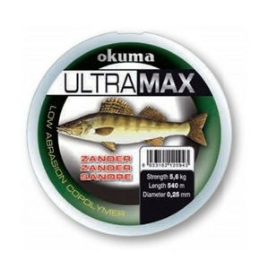 Vlasec Okuma Ultramax Zander 0,25mm/5,6kg/540m