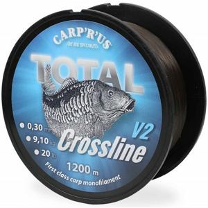 Vlasec Carp R Us Total Crossline V2 Brown 1200m 0,30mm 9kg / 20lb