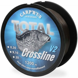 Vlasec Carp R Us Total Crossline V2 Brown 1200m 0,35mm 11,34kg / 25lb