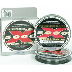 Vlasec Colmic X5000 Special Fishing 150m 0,12mm/2,29kg