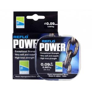 Vlasec Preston Reflo Power 100m 0,19mm/3,355kg
