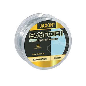 Vlasec Jaxon Satori Surf 5x15m 0,30-0,57mm