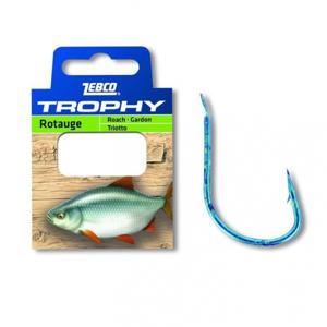 Návazec Zebco Trophy Roach Hook-to-nylon 10ks Velikost 12