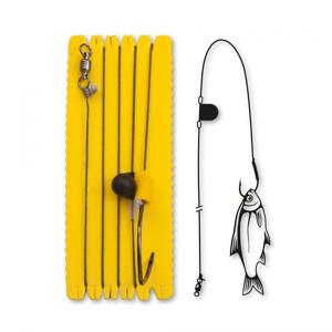 Návazec Black Cat Single Hook Rig with Rattle Velikost 8/0
