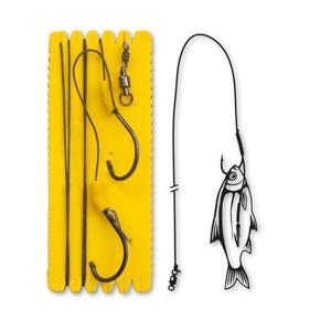 Návazec Black Cat Bouy and Boat Ghost Single Hook Rig Velikost 6/0